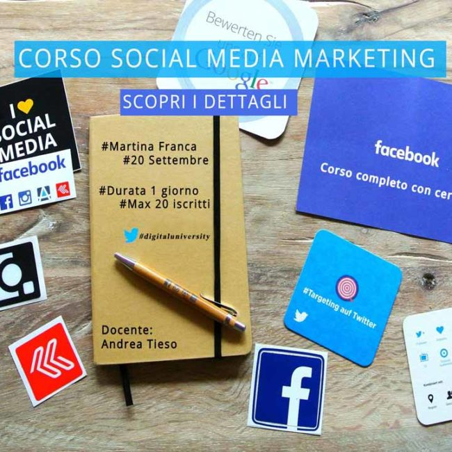 corso social media marketing a martina franca