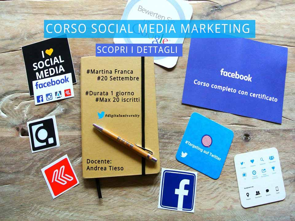 corso social media marketing a martina franca