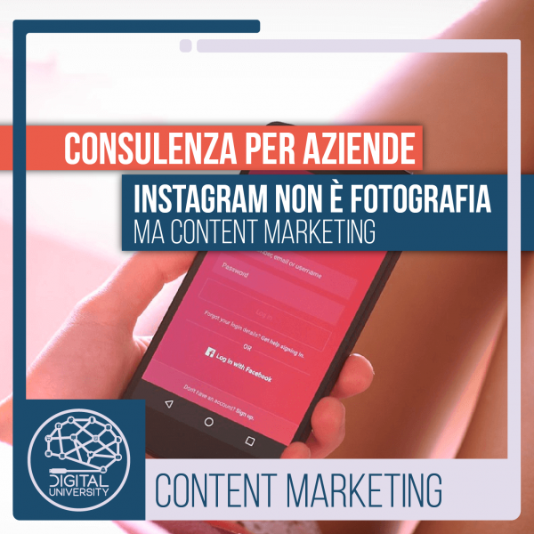 Instagram non è fotografia ma content marketing