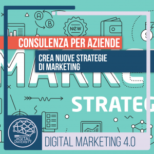 Crea nuove strategie di Marketing