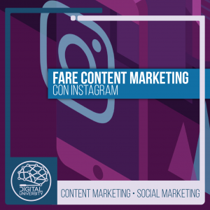 Fare content marketing con Instagram